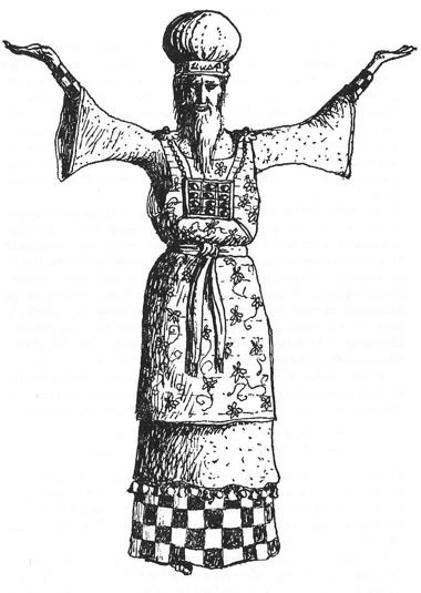 06ke198021 Figure 21 • L'Habit du Grand Prêtre.